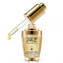 EFINNY Anti envejecimiento arrugas reafirmante humectante de la piel Liquid colágeno GOLD crema para la cara 24K