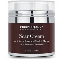 Scar Cream & Epidermal Repairing Cream 1.7 Oz. With Nobel-prized EGF & Indian Ginseng That Reduces the Appearance of