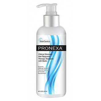 Pronexa by HairGenics - Clinical Strength Hair Growth & Regrowth Shampoo With Biotin for Maximum Hair Nourishment. Powerful