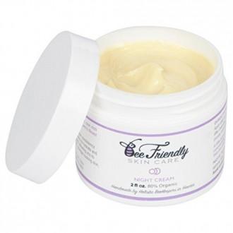 Best Night Cream 100% All Natural & 80% Organic Night Cream By BeeFriendly, Anti Wrinkle, Anti Aging, Deep Hydrating &