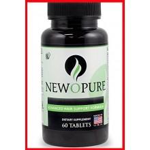 Newopure crecimiento natural del pelo de vitaminas, 60 tabletas (suministro para 30 días)