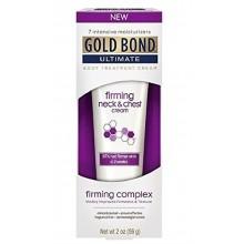 Último Gold Bond reafirmante de cuello y de la crema en el pecho, de 2 onzas (paquete de 2)