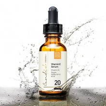 Best Vitamin C Serum for Face & Eyes, Organic & Natural, with Vitamin E, Hyaluronic & Ferulic Acid, Anti-Aging Products for