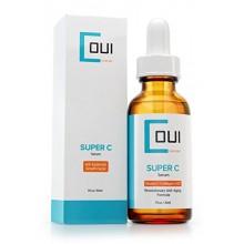 Super Vitamin C Serum - Best collagène Anti Aging Soins de la peau pour le visage et les yeux - EGF + Marine Kelp + Acide Hyalur