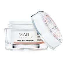Cuello crema reafirmante - Hidratante con péptidos formulado para el cuello, la barbilla, Escote - Lucha contra el envejecimient