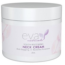 Neck Firming Cream by Eva Naturals (2 oz) - Firming Lotion for Sagging Neck, Face, and Décolleté - Fights Wrinkles and