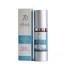 VITAMIN C SERUM Enriched with Hyaluronic Acid Vitamin E and Ferulic Acid Anti Aging Anti Wrinkle Protection Stimulates