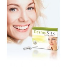 DermaSilk Anti-wrinkle Treatment Supplements, Clinically Proven to Reduce the Appearance of Wrinkles, Fine Lines, Age Spots