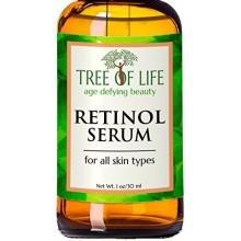 ToLB Retinol Serum - 72% orgánico - Clinical Strength Retinol Hidratante - Anti Aging Anti arrugas Facial Serum - 1 oz