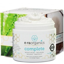 Naturel Visage Hydratant Crème 4 oz avancée Healing 10-in-1 Non Greasy Formule avec Aloe Vera, Miel de Manuka, noix de coco