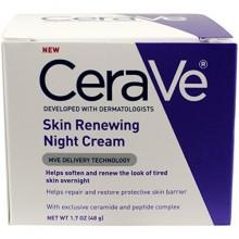 CeraVe La renovación del sistema, la piel Renovación Crema de Noche, 1,7 onza