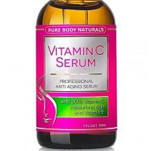 La vitamina C sérica, Profesional tópica Cuidado de la piel facial ayuda a reparar el daño solar, manchas se desvanecen edad, cí