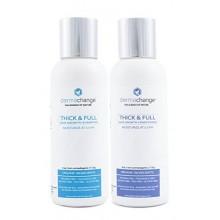 Croissance organique Cheveux Shampooing Bio et revitalisant Set - volumisant et Hydratant - Sulfate gratuit - Avec la repousse d