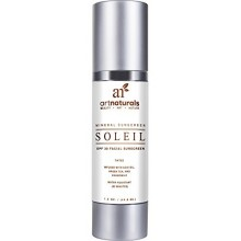 Art Naturals Facial Sunscreen SPF 30 & Tinted Moisturizer / Anti Aging Cream - 1.5 oz Water Resistant 80 Minutes - Made with