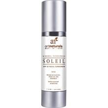 Arte Naturals facial de protección solar SPF 30 Tinted Moisturizer y / Anti Aging Cream - 1,5 oz Resistente al Agua 80 Minutos -