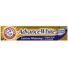 ARM & HAMMER Advance Blanc bicarbonate de soude et de peroxyde Dentifrice, Extreme Whitening 4,3 oz (Pack de 3)