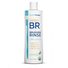 Oxygen Essential Organic Brushing Rinse Dentifrice Mouthwash pour les dents plus blanches, haleine fraîche et des gencives plus