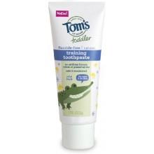 Tom du Maine Toddlers Fluoride-Free Dentifrice naturel dans Gel, Fruit doux, 1.75 Ounce, 3 Count