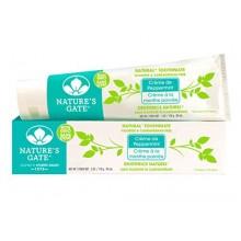 Porte Naturel Dentifrice Nature, Crème de menthe poivrée, Tubes 6 onces (pack de 6)