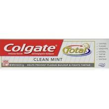 Colgate Total Dentifrice, anticavité fluorures et gingivite, Clean Taille Mint Voyage, TSA Aproved, 0.75 Oz (paquet de 12)