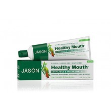 Jason Healthy Mouth Dentifrice, Tea Tree Oil & Cinnamon, 4,2 Onces