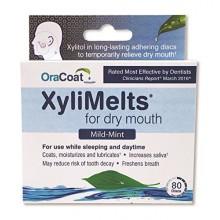 Orahealth Xylimelts mentas, Cajas 80-Count