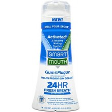SmartMouth Gum and Plaque Mouthwash, Mint, 16 Fluid Ounce