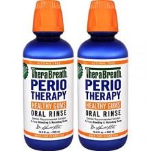 TheraBreath Dentiste PerioTherapy SAIN GOMMES Recommandé Rinçage Oral, 16,9 Ounce (Pack de 2)