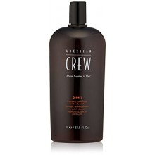 American Crew Classic 3-en-1 Shampoo Plus Conditioner, 33.8 onza