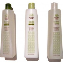 Tea Tree Tingle Cruelty Free Bundle - Shampoo, Conditioner, Body Wash - 16 fl oz bottles