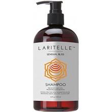 Laritelle Shampooing Bio 16 oz | Perte de cheveux Prévention, Clarifier, Renforcement, folliculostimulante | Huile d'argan,