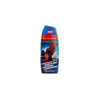 Spiderman 3-en-1 Body Wash-champú-acondicionador 16 oz explosión de bayas