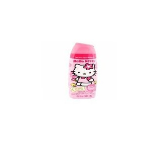 Bonjour Kitty 3-In-1 Body Wash-Shampoo-Conditioner 16 oz bubble-gum