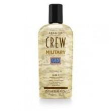 American Crew: Military Classic 3-en-1 champú, 8,45 oz