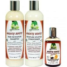 Fontaine Roots Puissant Pimento JBCO 4oz avec shampooing et revitalisant Combo 13 oz