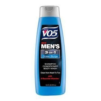 Alberto VO5 Mens 3-in-1 Shampoo, Conditioner & Body Wash, Ocean Surge 12.5 Fl Oz par Alberto Culver