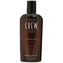 American Crew 3-in-1 Shampoo, Conditioner, Body Wash, 8,45 Ounce