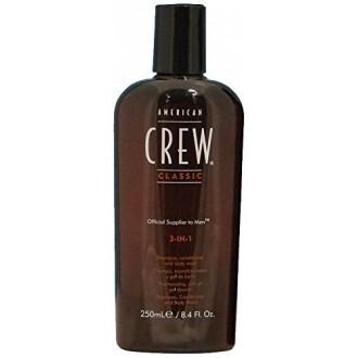 American Crew 3-in-1 Shampoo, Conditioner, Body Wash, 8.45 Ounce