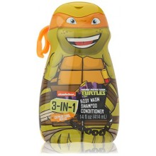 Teenage Mutant Ninja Turtles - TMNT - 3 in 1 Body Wash , Shampoo, Conditioner