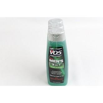 Alberto Vo5 Mens 3-in-1 Shampoo, Conditioner & Body Wash, Fresh Energy 12.5 Fl Oz
