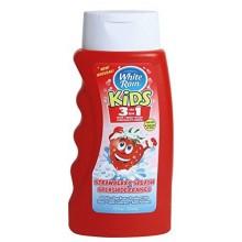 Blanc pluie Enfants Fraise 3 en 1 shampoing / / Body Wash 12 fl. oz.each (Pack de 3)