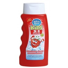 White Rain Kids Strawberry 3 in 1 Shampoo / Conditioner / Body Wash 12 fl. oz.each (Pack of 3)