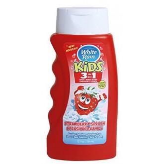 White Rain Kids Fresa 3 en 1 champú / acondicionador / Body Wash 12 fl. oz.each (Pack de 3)
