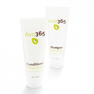 Avo365 - Shampooing Nourrissant et Hydratant Revitalisant (bundle) faite avec pressée à froid l'huile d'avocat, miel, Rosemary,