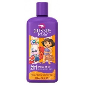Aussie Kids Dora The Explorer Shampoo 2-In-1 Mango Mate 12oz (3 Pack)