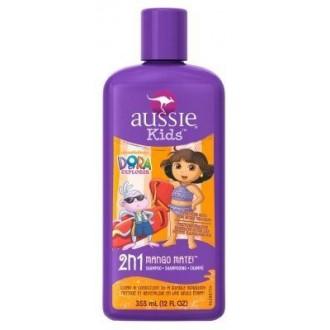 Aussie enfants Dora l'exploratrice Shampoo 2-en-1 Mango Maté 12 onces (3 pièces)