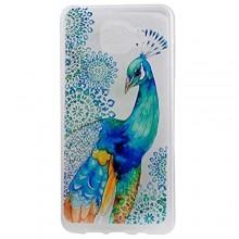 S7 Edge Case, UCLL Peacock Design Slim Flexible Cute Cover for Samsung Galaxy S7 Edge
