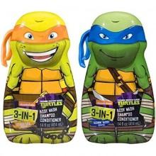 Teenage Mutant Ninja Turtles 3-in-1 Body Wash Shampoo and Conditioner (2 Pack)