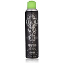 TIGI Bed Head: Rockaholic Dirty Secret aerosol champú seco, 6,3 oz