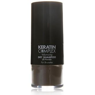 Kératine volumisant Complex Shampooing sec Brunettes Lift en poudre pour unisexe, 0,31 Ounce